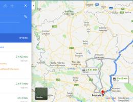 map timisoara belgrade